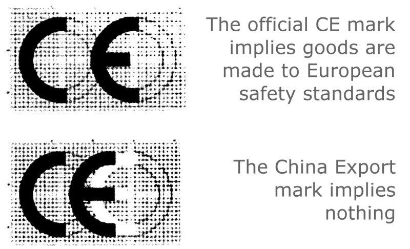 ce u30de u30fc u30af u3068china export mark