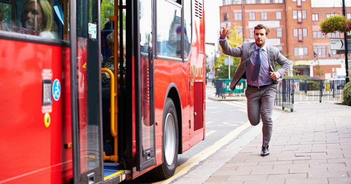 な バス に 乗り遅れる