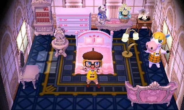 あつ 森 ラブリー 家具
