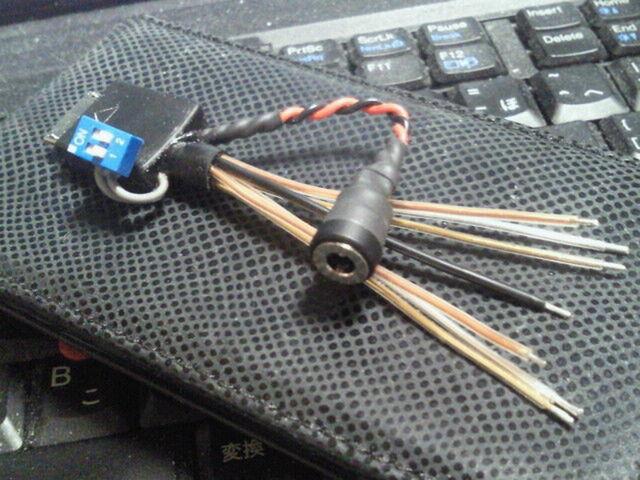 SONY WM-PORTの改造(LINE出力モード切替+充電対応)