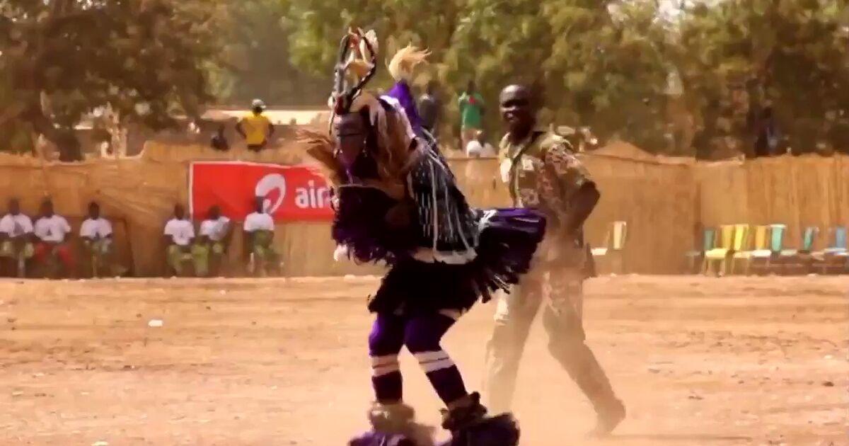 世界で一番中毒注意なアフリカン民族ダンス
