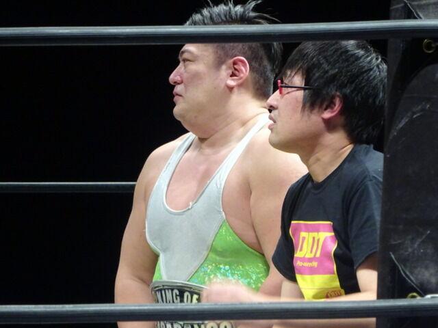 11.28 DDT『大阪オクトパス2015』(大阪府立体育会館第一競技場大会 ...