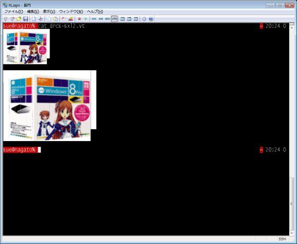 長編まとめ・Sixel Graphics復活への動き(1) (3ページ目) - Togetter