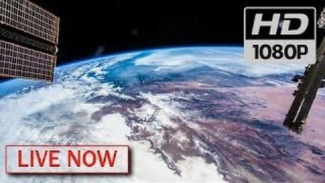 Nasaが24時間宇宙から生配信している映像 手を振ってくれたり、作業風景に癒やされる Togetter