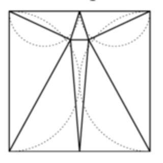 長方形をなるべく少ない鋭角三角形に分割するには - Togetter